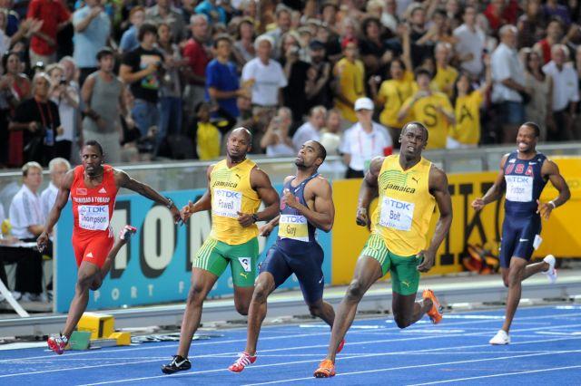 Top Ten 100, 200, 400, 800, 1600 Meter World Records