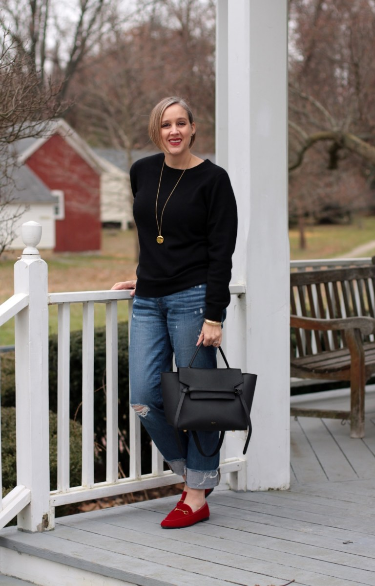 Grana vs Everlane cashmere review, 40 + style blogger, Detroit blogger