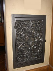 Asian Panel in Pewter
