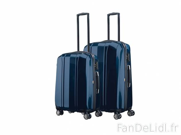 2 Valises En Polycarbonate Mode Vetements Fan De Lidl FR