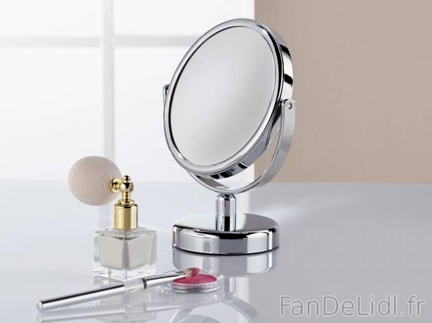 Miroir Grossissant Salle De Bain Amenagement Et Decor Fan De Lidl Fr