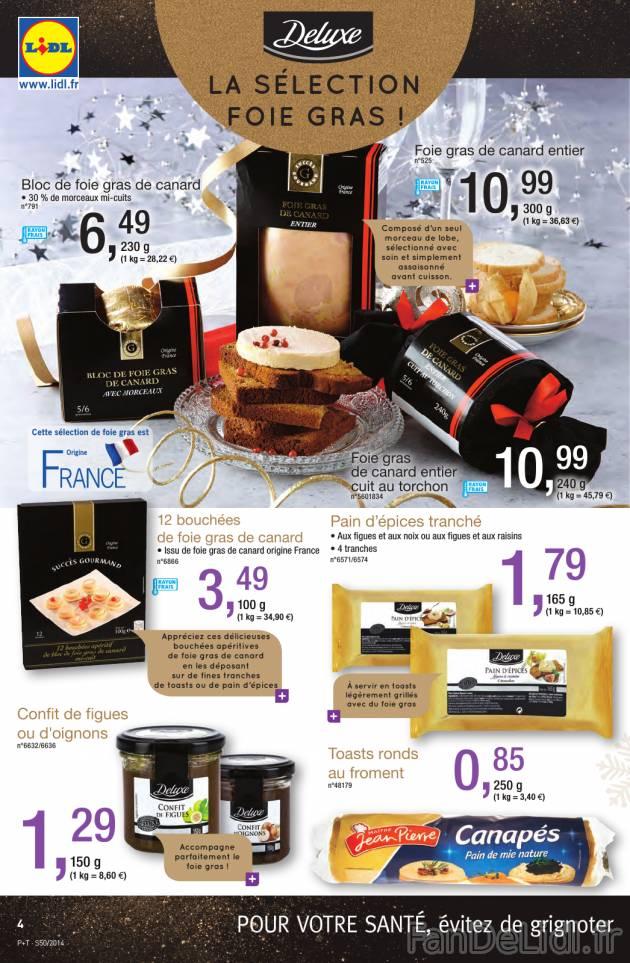 Foie gras de canard  grand choix Produits alimentaires  Fan de Lidl FR