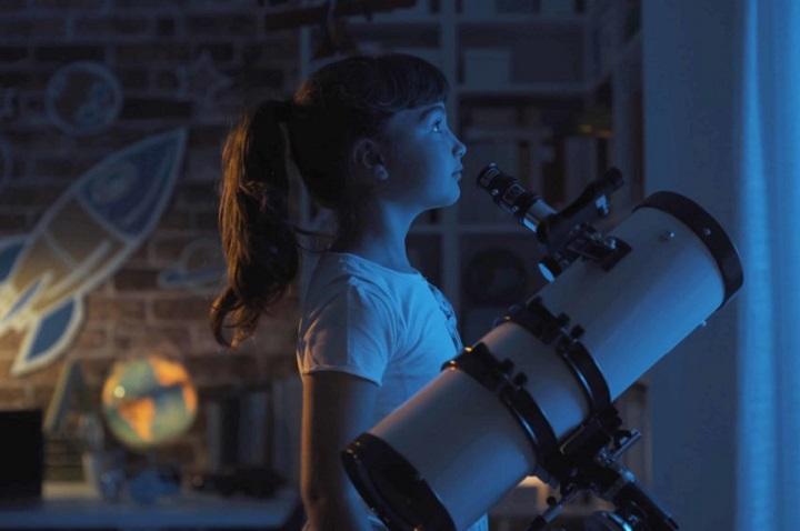 telescopio para niños