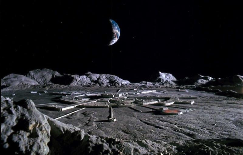 Image result for lunar base 2001 space odyssey