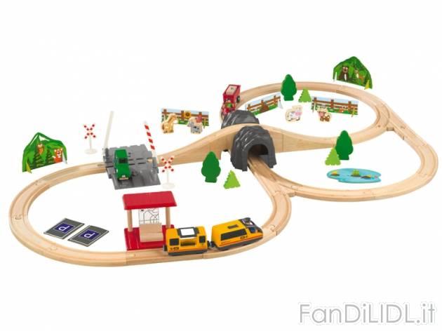 Gioco ferrovia o Per bambini  Fan di Lidl