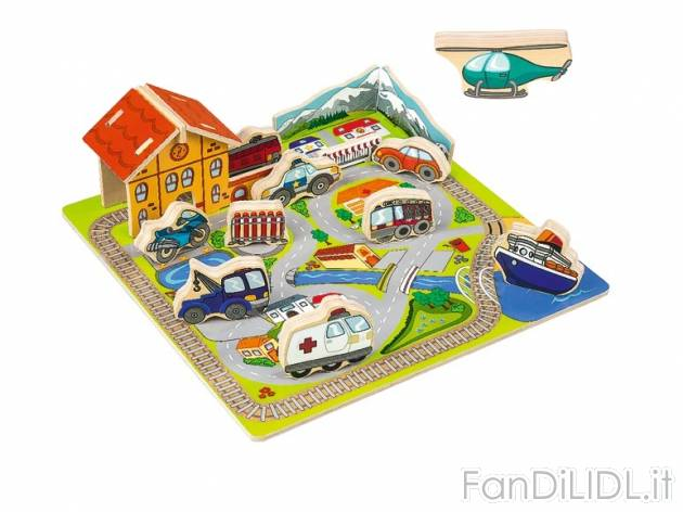 Puzzle ad incastro Per bambini  Fan di Lidl