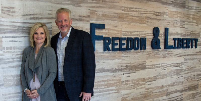 Pastor Eddie and April Sawyers welcome you to Freedom and Liberty.