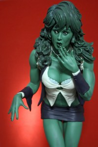 Adam Hughes She-Hulk Comiquette 006