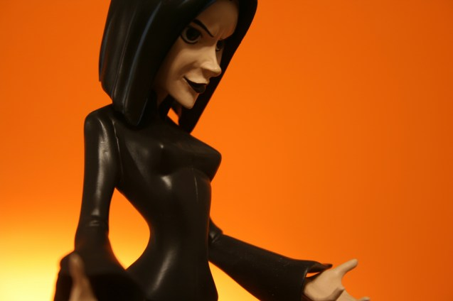 Buffy Dark Willow Tooned Up Maquette 006