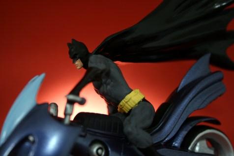 DC Superhero Figurines Batcycle 006