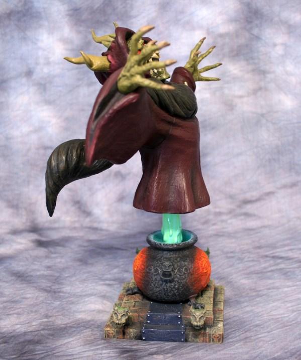 Horned King Bust 004