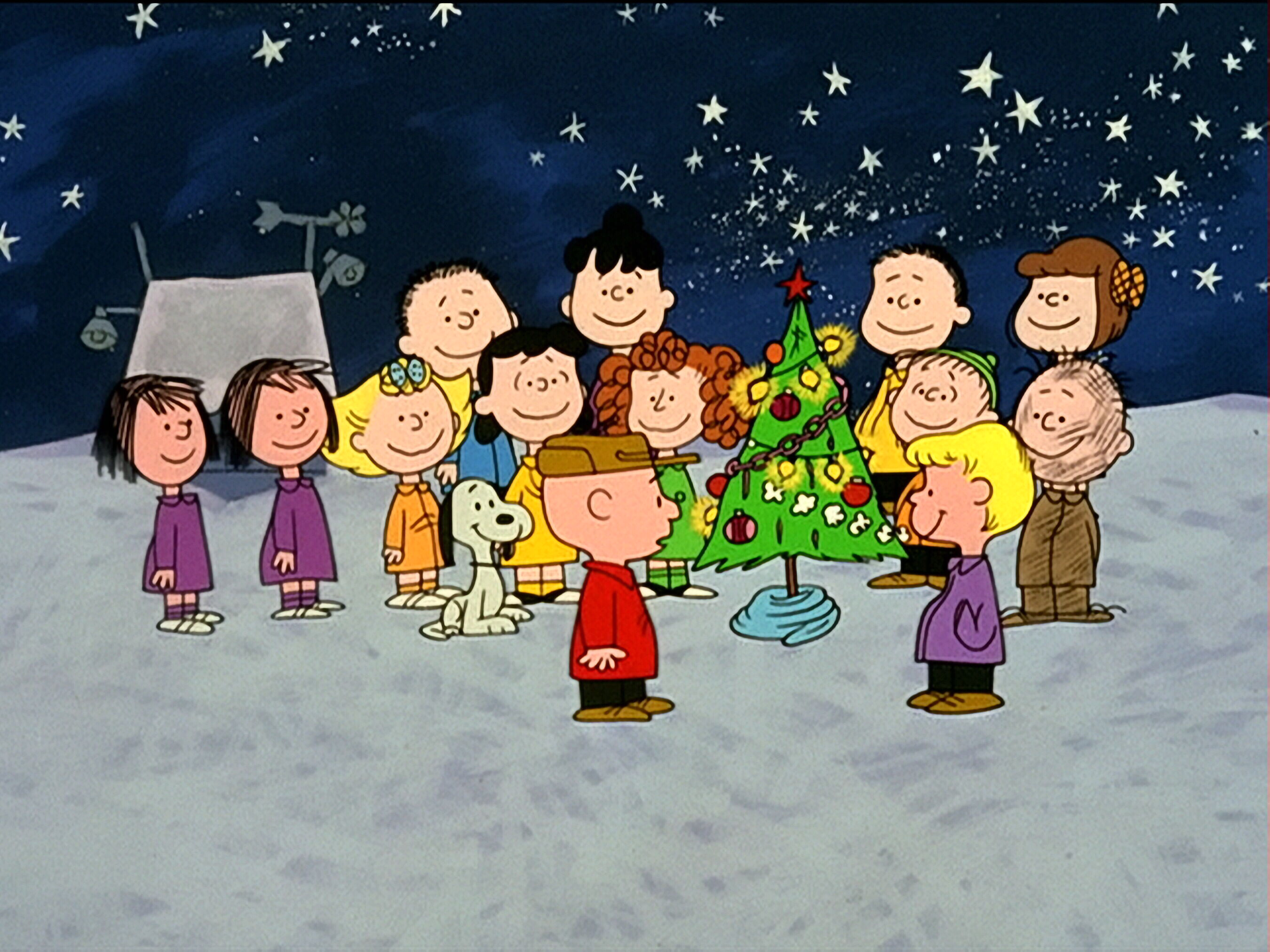 youtube charlie brown christmas hark the herald