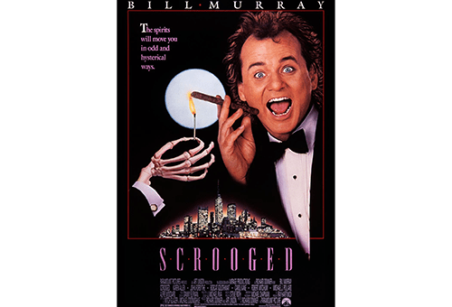 Press Rewind: Scrooged