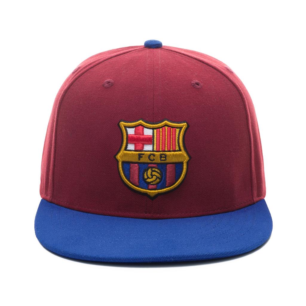 Barcelona FC snapback cap