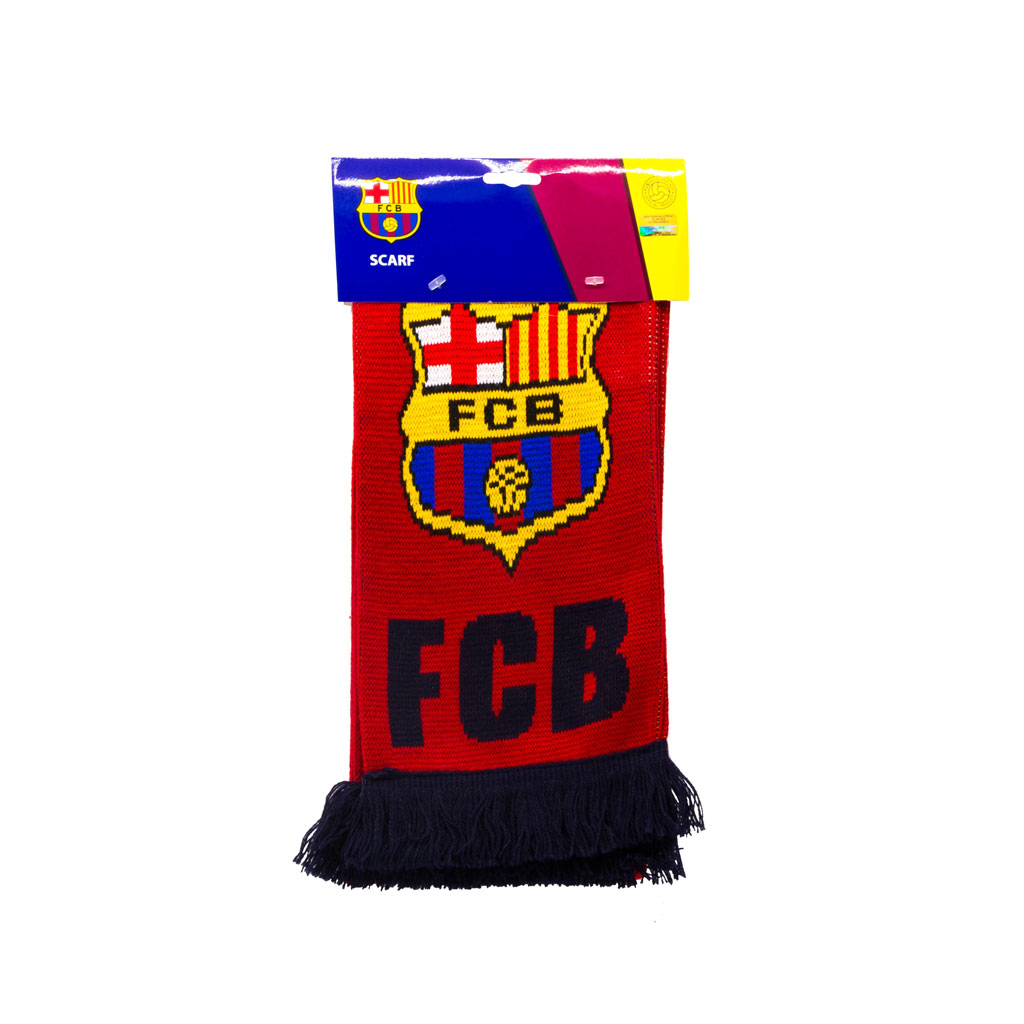 Barcelona FC Team Scarf