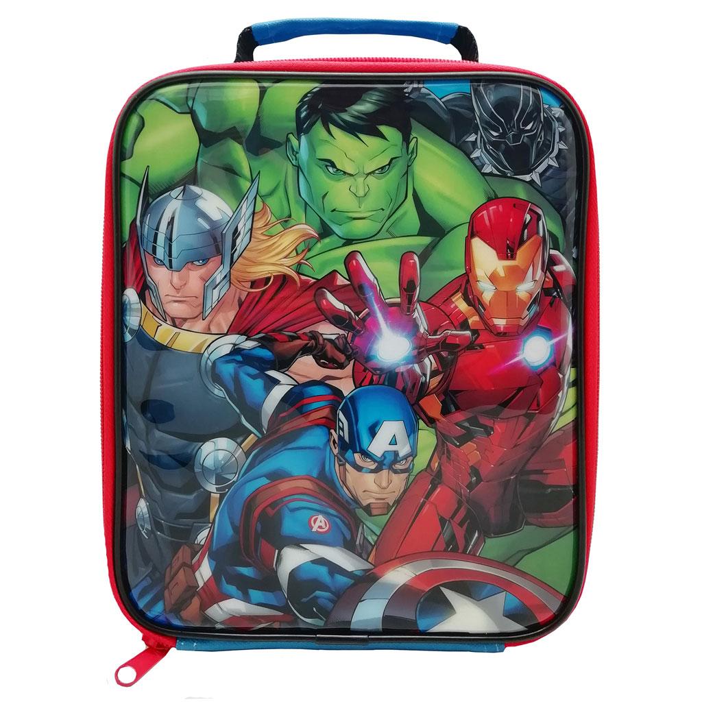 Avengers zipper Lunch Bag