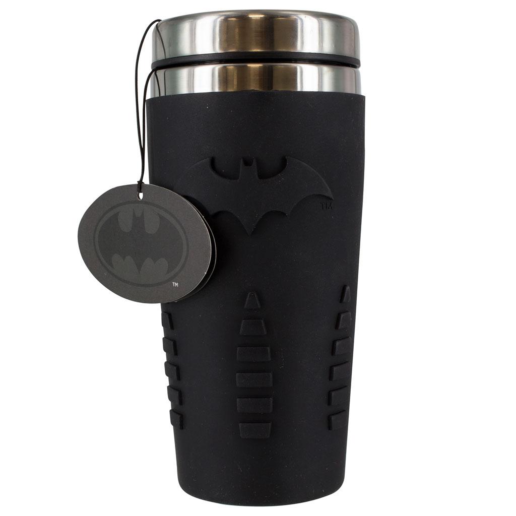 Batman 15 ounce black Travel Mug