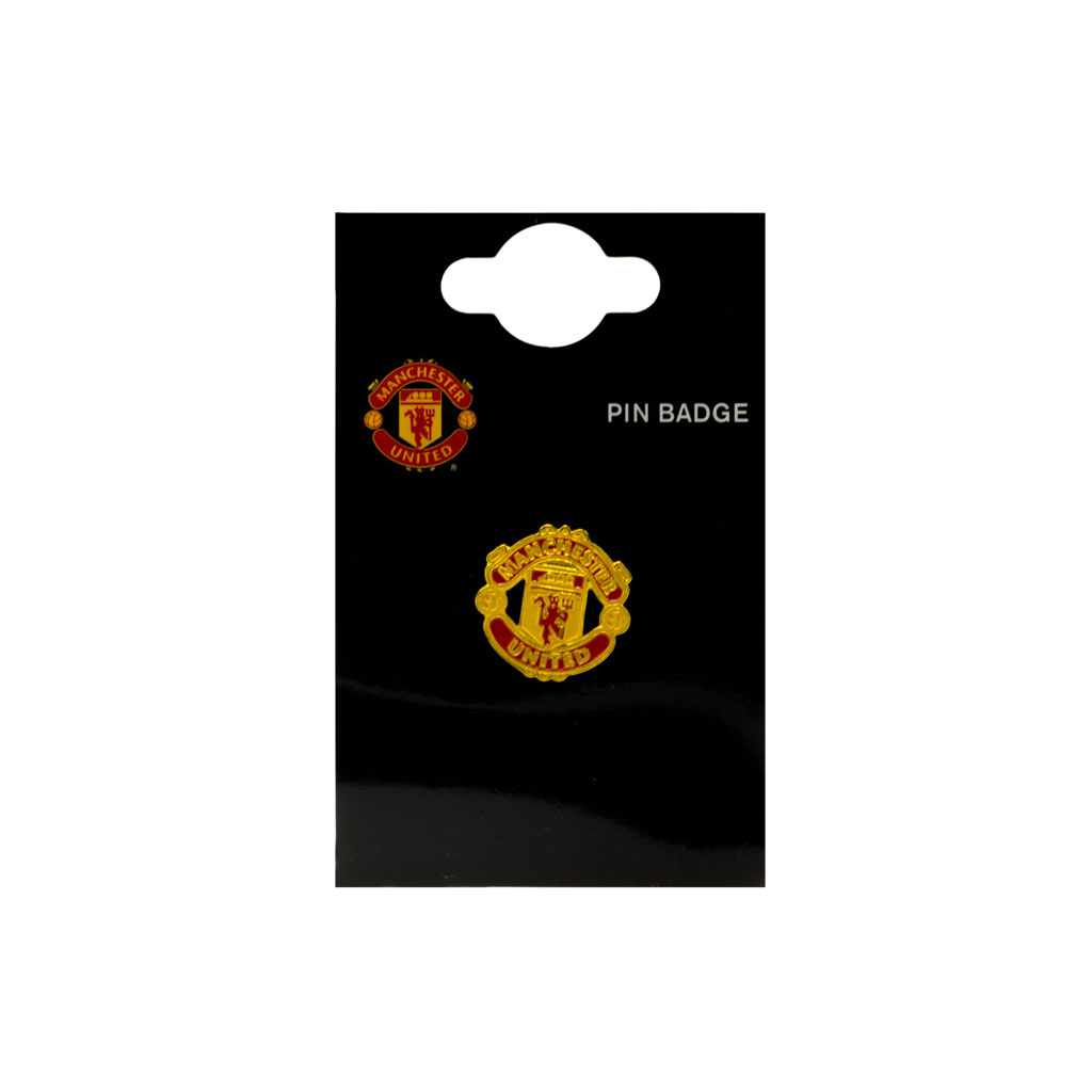 Manchester United Big Crest Pin Badge