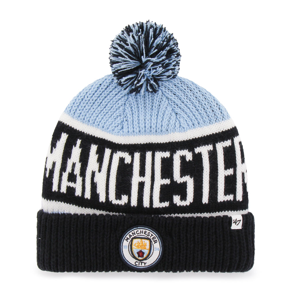 Manchester City EPL Calgary Cuff Knit Toque