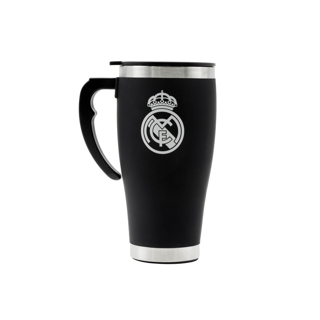 Real Madrid Foil Print Travel Mug
