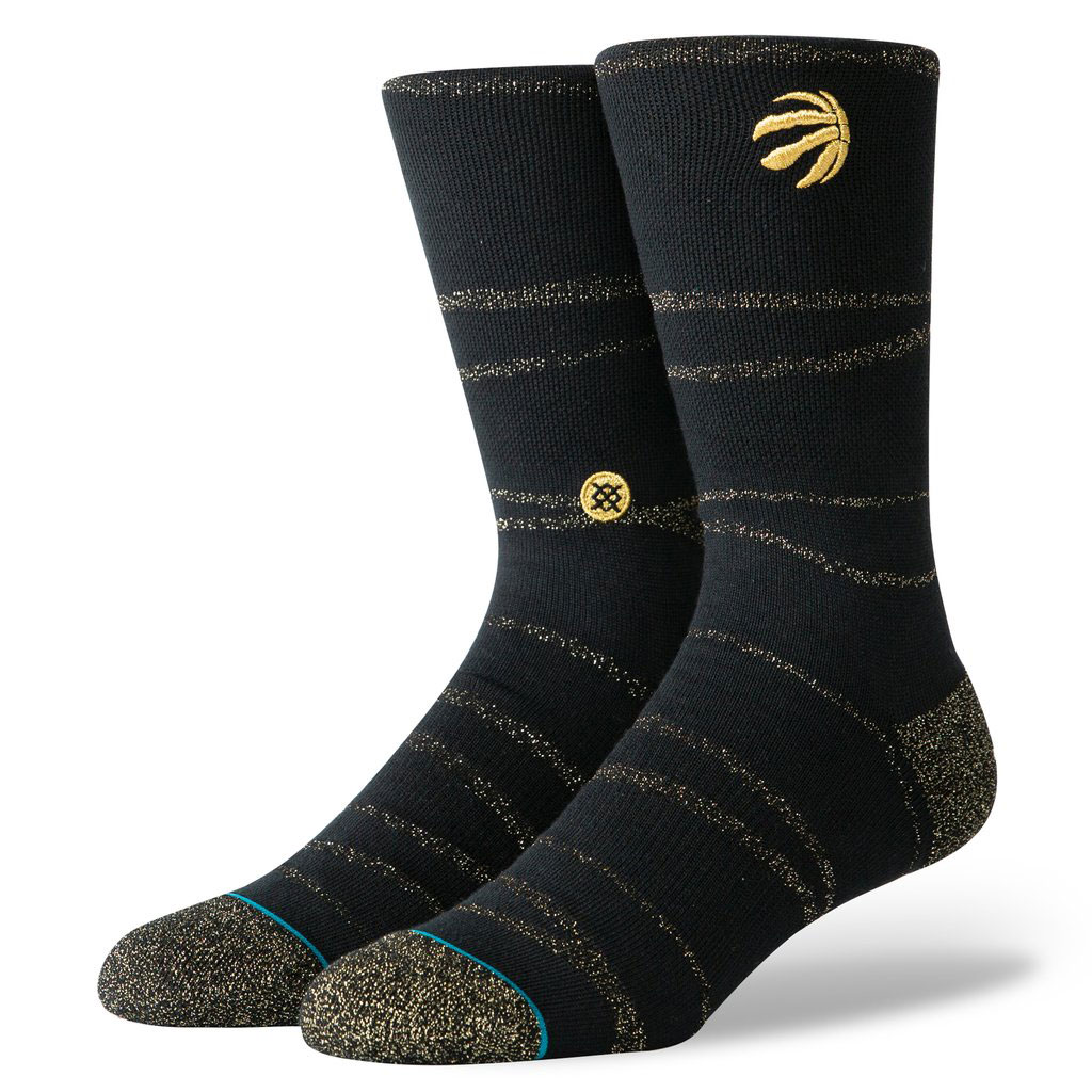 Toronto Raptors NBA Stance Raptors Trophy Twist Socks