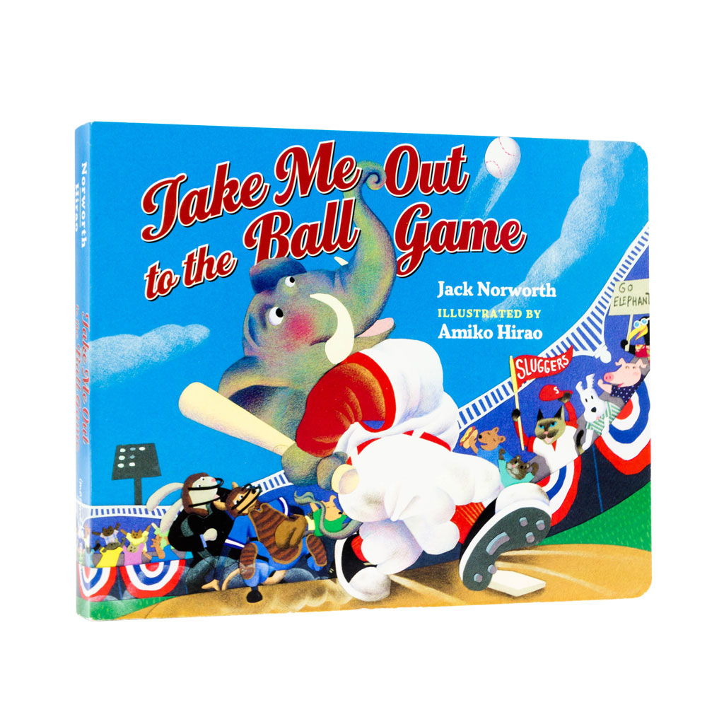 Baseball Take Us Out to the Ball Game hardcover Book