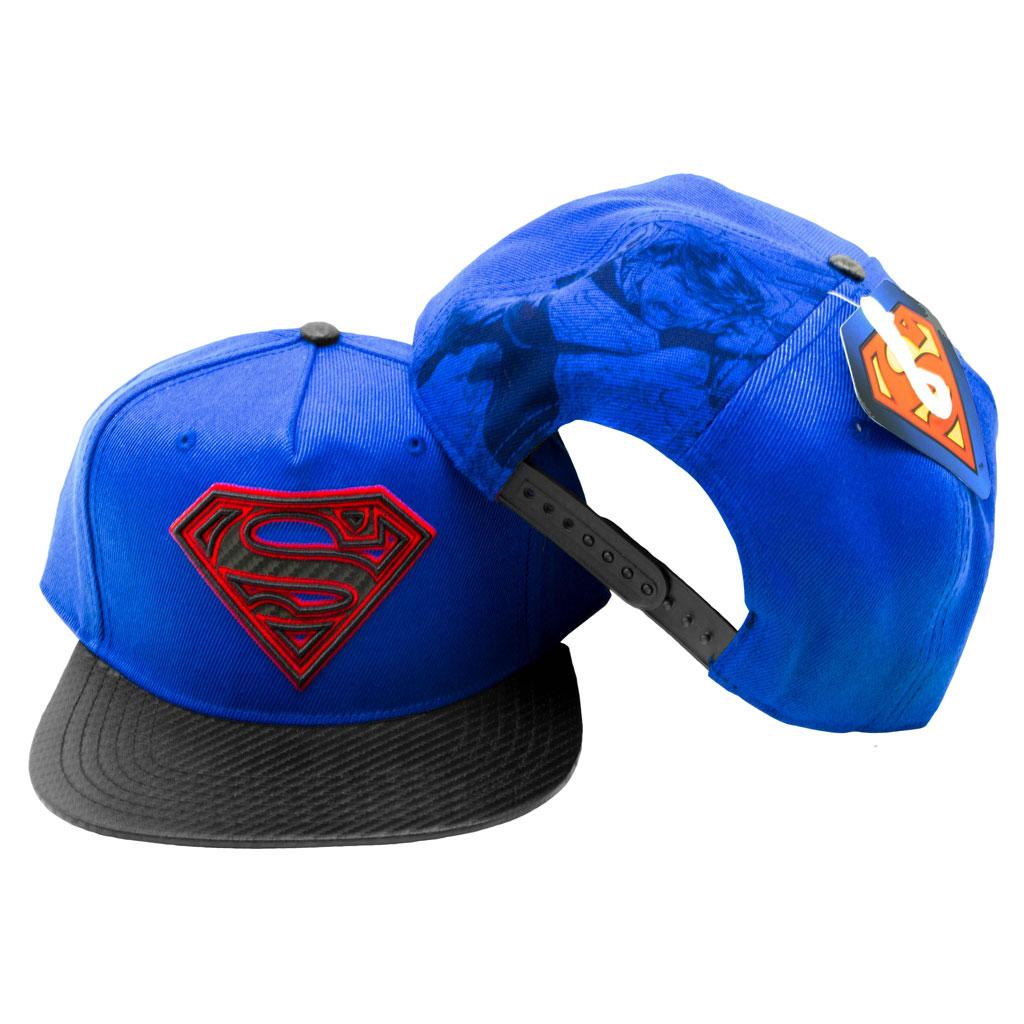 Superman adult Snapback Cap