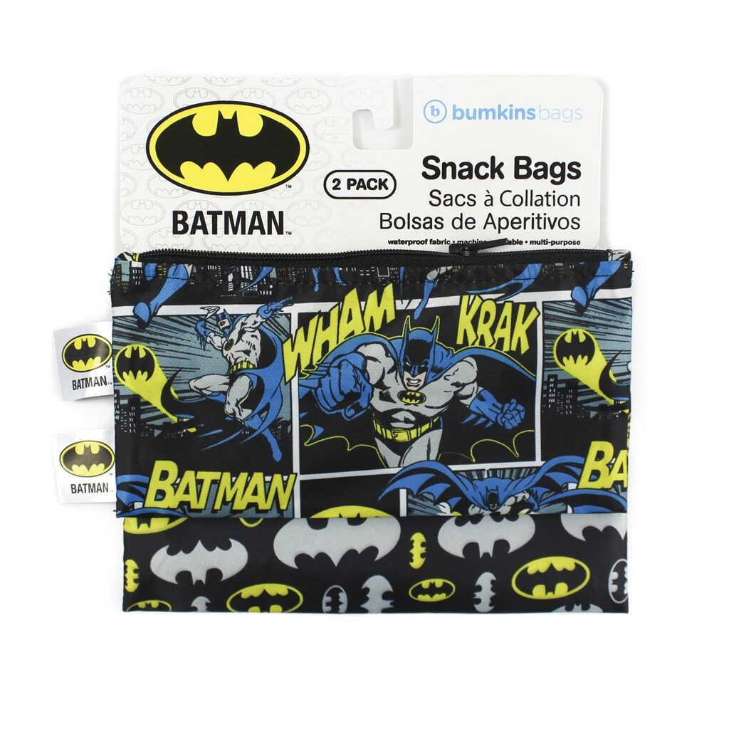 Bumkins Batman 2 pack Snack Bags