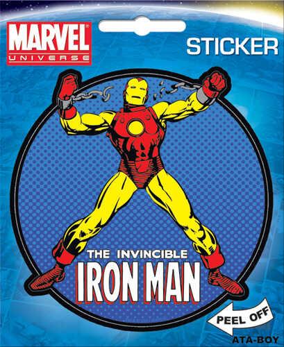 Iron Man Character Sticker