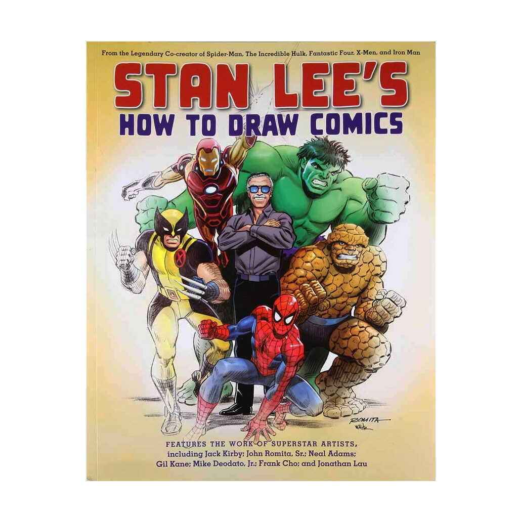Marvel Stan Lee How-to-Draw Comic Book