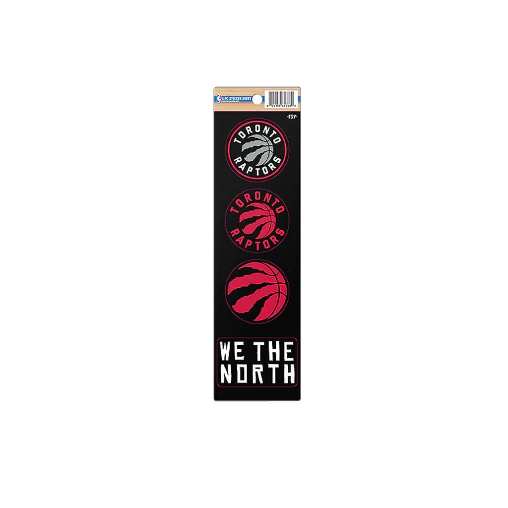 Toronto Raptors 4pc Sticker Pack