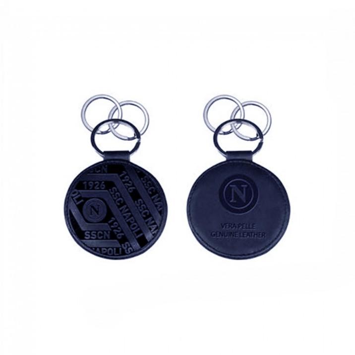 Napoli Leather Keychain