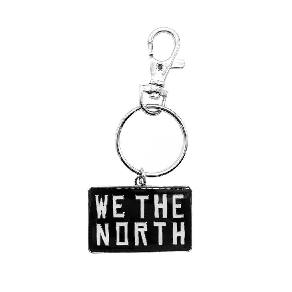 Toronto Raptors We The North Keychain