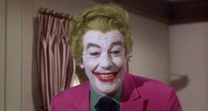 Cesar Romero's kooky clown in the 1960s Batman show helped launch the character into the public eye. Famously, the actor refused to shave off his moustache for the role. Go on, have a closer look...