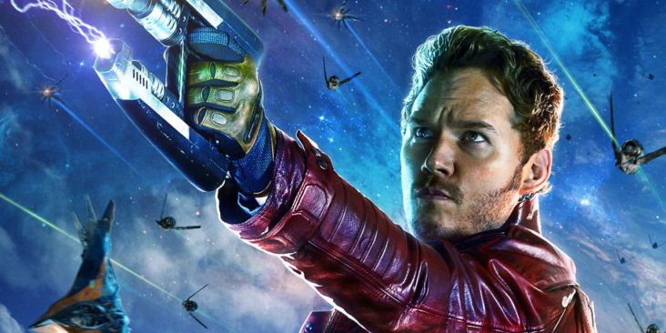 The Infinity War will finally unite the Avengers with the Guardians of the Galaxy. So that's Star-Lord...