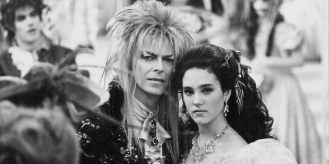 Jareth and Sarah in Labyrinth