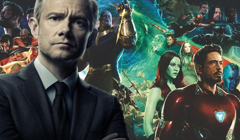 Martin Freeman on His Role in 'Black Panther' and Future Marvel Films