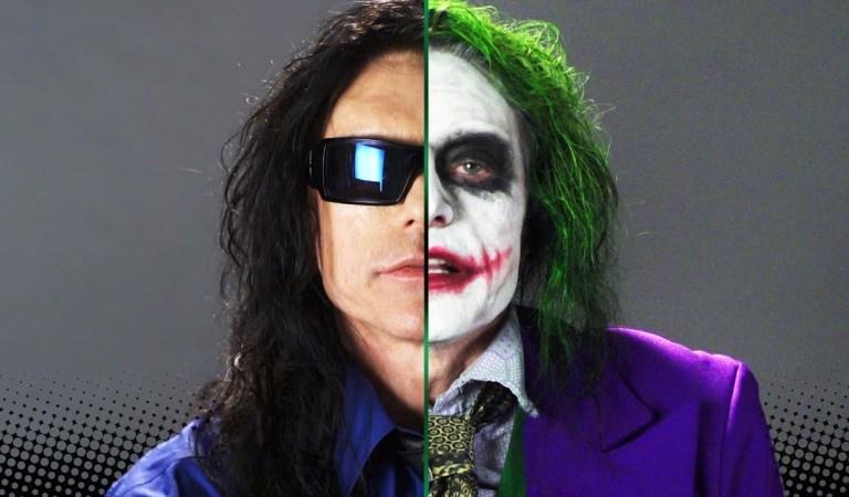 Watch 'The Room' Star Tommy Wiseau's Strange Joker Audition Tape