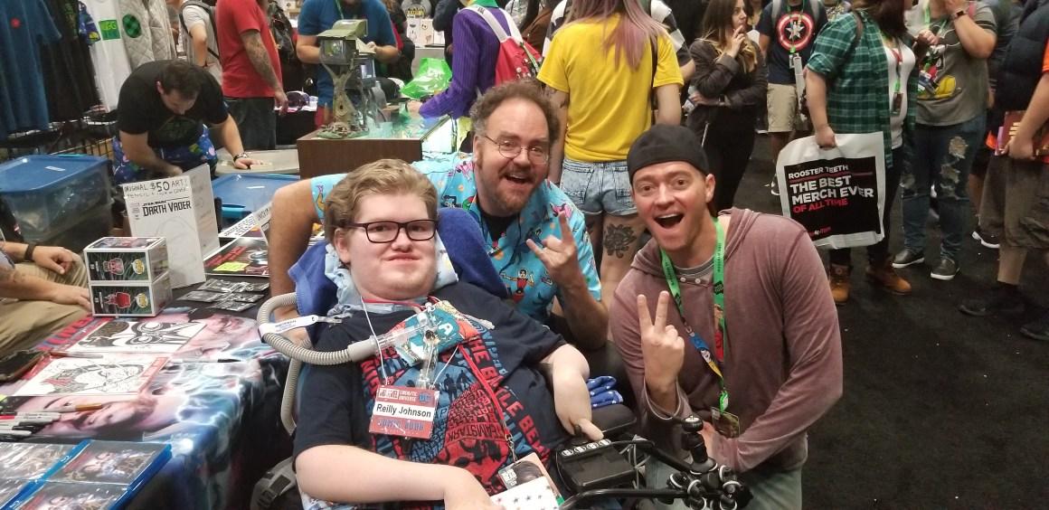 Reilly Johnson, Jon Schnepp, and Mark Ellis.