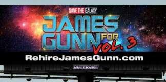 New Billboard Demands Disney Rehire James Gunn