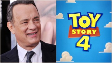 """Tom Hanks, voice of Woody, struggled to record the final scene from the upcoming Toy Story 4, a series known for it's heart. He describes that scene as a """"moment in history""""."""