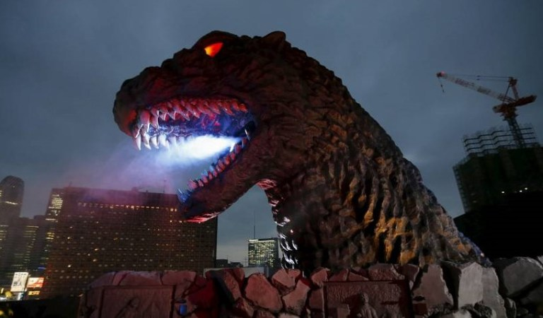 Japan Takes 'Godzilla' To a Whole New Level With This New Statue