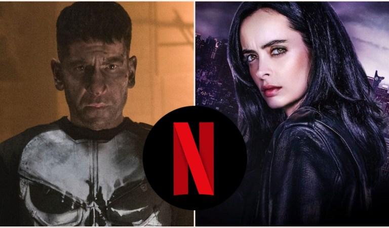 Netflix Cancels 'The Punisher' & 'Jessica Jones'