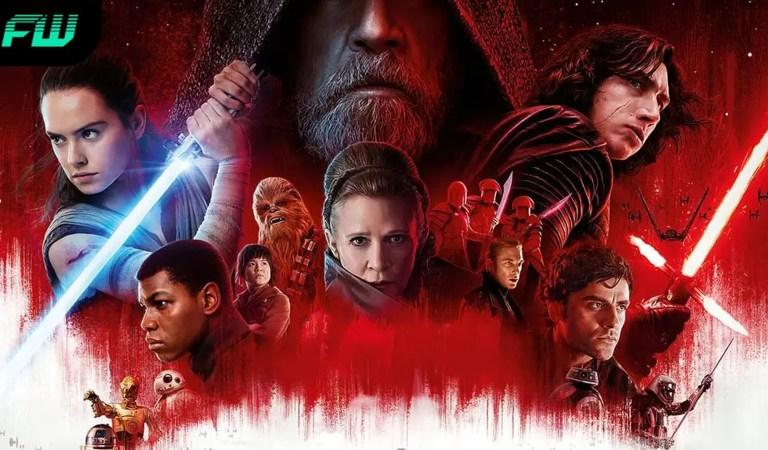 Star Wars: The Last Jedi is Streaming on Disney+