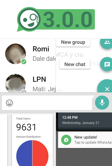 WhatsApp MD 3.0 Screenshot