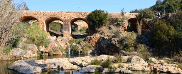 Puente del río de Santa Eulària