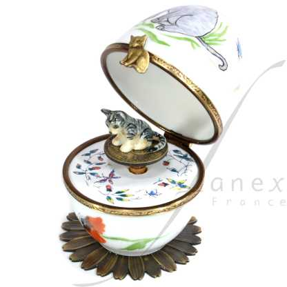 cat automata limoges music egg