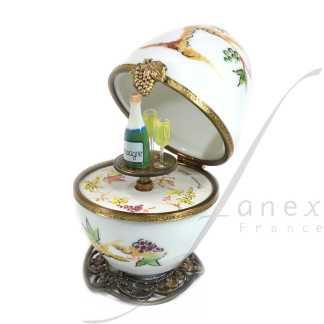 automaton limoges music egg fanex france