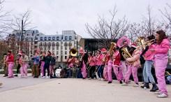 Fanfare à Châtelet les Halles thème Noël
