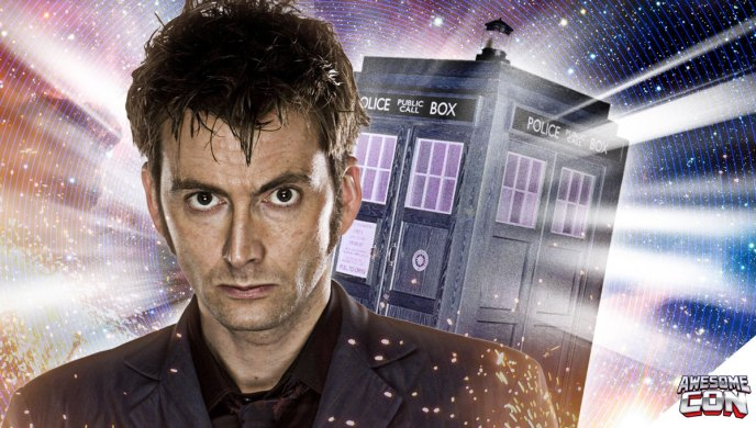 David Tennant, Dr. Who, Awesome Con